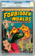 Golden Age (1938-1955):Science Fiction, Forbidden Worlds #2 (ACG, 1951) CGC FN+ 6.5 Off-white to whitepages....