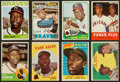 Baseball Cards:Lots, 1958 to 1975 Topps Hank Aaron Collection (19). ...