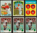 Baseball Cards:Lots, 1963 to 1973 Topps Pete Rose Collection (6) Including '63 Rookie Card. ...