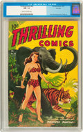 Golden Age (1938-1955):Adventure, Thrilling Comics #63 File Copy (Standard Publications, 1947) CGC NM- 9.2 Cream to off-white pages....