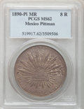 Mexico, Mexico: Republic 8 Reales 1890Pi-MR,...