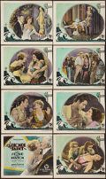 """Movie Posters:Drama, The Blonde Saint (First National, 1926). Lobby Card Set of 8 (11"""" X 14""""). Drama.. ... (Total: 8 Items)"""
