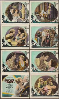 """The Blonde Saint (First National, 1926). Lobby Card Set of 8 (11"""" X 14""""). Drama. ... (Total: 8 Items)"""