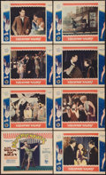 """Movie Posters:Drama, Broadway Nights (First National, 1927). Lobby Card Set of 8 (11"""" X 14""""). Drama.. ... (Total: 8 Items)"""