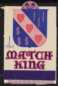 """Movie Posters:Drama, The Match King (First National, 1932). Herald (3.5"""" X 5.5""""). Drama.. ..."""