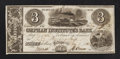 Obsoletes By State:Ohio, Fulton, OH- Orphan Institute's Bank $3 July 1, 1838. ...
