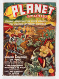 Pulps:Science Fiction, Planet Stories #1 (Fiction House, 1939) Condition: VG/FN....