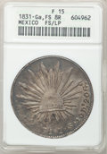 Mexico, Mexico: Republic 8 Reales 1831Ga-FS/LP,...