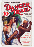 Pulps:Adventure, Danger Trail V1#1 (Dell, 1933) Condition: VG+....
