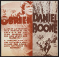 "Movie Posters:Adventure, Daniel Boone (RKO, 1936). Herald (6"" X 6""). Adventure.. ..."