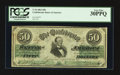 Confederate Notes:1861 Issues, T16 $50 1861 PF-3 Cr. 81.. ...