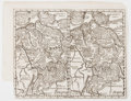 Books:Maps & Atlases, [Maps]. Lot of Two Engraved Maps. [N.p., n.d., ca. 1770]. Two maps excised from a book, one map of Germany (Germania) and th... (Total: 2 Items)