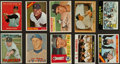 Baseball Cards:Lots, 1950 to 1973 Bowman And Topps Yankee Collection (31). ...