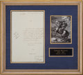 Autographs:Non-American, Napoleon Bonaparte Endorsement Signature...