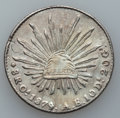 Mexico, Mexico: Lot of Nine Cap and Ray 8 Reales from the Oaxaca Mint,...(Total: 9 items)