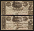 Obsoletes By State:Maryland, Baltimore, MD- Baltimore and Susquehanna Rail Road Company $100 Feb. 19, 1838 and Oct. 13, 1838. ... (Total: 2 notes)