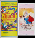 "Movie Posters:Animated, Sleeping Beauty & Other Lot (Greater Union, R-1980). AustralianDaybills (2) (13.25"" X 26"" & 13.25"" X 30"" ). Animated.. ...(Total: 2 Items)"