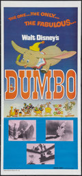"Movie Posters:Animation, Dumbo (Greater Union, R-1983). Australian Daybill (13"" X 30"").Animation.. ..."