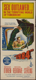 "Movie Posters:Science Fiction, 1984 (Columbia, 1956). Australian Daybill (13"" X 30""). ScienceFiction.. ..."