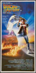 """Movie Posters:Science Fiction, Back to the Future (Universal, 1985). Australian Daybill (13"""" X30""""). Science Fiction.. ..."""