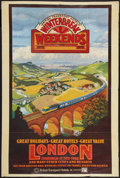 "Movie Posters:Miscellaneous, London Travel Poster (British Rail, 1978-1979). Poster (40"" X 60"").Miscellaneous.. ..."