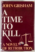 Books:Fiction, John Grisham. SIGNED. A Time to Kill. New York: WynwoodPress, [1989]. First edition of the author's first book. S...