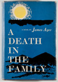 Books:Fiction, James Agee. A Death in the Family. New York: McDowell,Obolensky, [1957]. First edition with the correct first i...