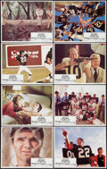 "Movie Posters:Comedy, The Longest Yard (Paramount, 1974). Lobby Card Set of 8 (11"" X 14""). Comedy.. ... (Total: 8 Items)"