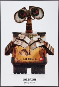 """WALL·E (Walt Disney Pictures, 2008). One Sheet (27"""" X 40"""") DS. Animation"""