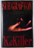 "Books:Mystery & Detective Fiction, Sue Grafton. SIGNED. ""K"" is for Killer. New York: Holt,[1994]. First edition. Signed by the author on the tit..."