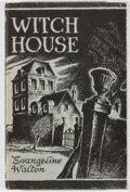 Books:Horror & Supernatural, [Jerry Weist]. Evangeline Walton. Witch House. Sauk City:Arkham House, 1945. First edition, first printing. Oct...