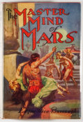 Books:Science Fiction & Fantasy, [Jerry Weist]. Edgar Rice Burroughs. The Master Mind of Mars. New York: Grosset & Dunlap, [1929]. Later edition. Oct...