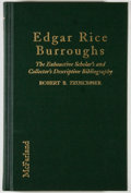 Books:Reference & Bibliography, [Jerry Weist]. Robert B. Zeuschner. Edgar Rice Burroughs.Jefferson: McFarland, [1996]. First edition, first pri...