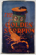 Books:Mystery & Detective Fiction, [Jerry Weist]. Sax Rohmer. The Golden Scorpion. New York:Burt, [n. d.]. Later edition. Octavo. 308 pages. Publisher...