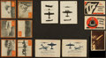 Non-Sport Cards:Lots, 1930's-50's Canadian Non-Sports Card Collection (126) With V360Near Set. ...