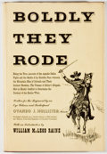 Books:Americana & American History, Ovando J. Hollister. Boldly They Rode. A History of the FirstColorado Regiment of Volunteers. With an Introductio...