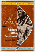 Books:Americana & American History, Gordon C. Baldwin. The Apache Indians. Raiders of theSouthwest. New York: Four Winds Press, [1978]. Secondprinting...
