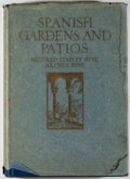 Books:Art & Architecture, Mildred Stapley Byne and Arthur Byne. Spanish Gardens and Patios. Philadelphia & London: Lippincott, 1924. First edi...