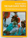 Books:Americana & American History, Richard Erdoes. The Rain Dance People. The Pueblo Indians, theirpast and present. New York: Knopf, [1976]. First ed...