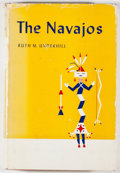 Books:Americana & American History, Ruth Underhill. The Navajos. Norman: University of OklahomaPress, [1958]. Second printing. Octavo. 299 pages. Publi...