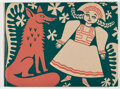 Books:Fine Press & Book Arts, [Peter Pauper Press]. Russian Fairy Tales. Chiefly Followingthe Versions of Arthur Ransome and with Illustrations...