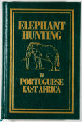 Books:Sporting Books, Jose Pardal. SIGNED/LIMITED EDITION. Elephant Hunting in Portuguese East Africa. Long Beach: Safari Press, [1990...