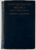 Books:Medicine, Harvey Cushing. Consecratio Medici. Boston: Little, Brown, 1928. First edition, first printing. Octavo. 276 pages. P...