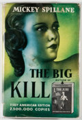 Books:Mystery & Detective Fiction, Mickey Spillane. The Big Kill. London: Barker, [1952]. FirstEnglish edition. Octavo. 192 pages. Publisher's binding...
