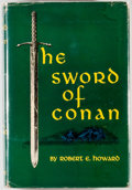 Books:Science Fiction & Fantasy, Robert E. Howard. The Sword of Conan. The Hyborean Age. New York: Gnome Press, [1952]. First edition, first prin...