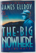 Books:Mystery & Detective Fiction, James Ellroy. SIGNED. The Big Nowhere. New York: MysteriousPress, [1988]. First edition, first printing. Signed b...