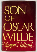 Books:Biography & Memoir, Vyvyan Holland. Son of Oscar Wilde. New York: Dutton, 1954.First edition. Octavo. 237 pages. Illustrated. Publi...