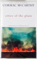 Books:Fiction, Cormac McCarthy. Cities of the Plain. [London]: Picador,[1998]. First edition, first printing. Octavo. 291 pages. P...