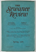 Books:First Editions, [Cormac McCarthy]. Andrew Lytle [editor]. The Sewanee Review.Volume LXXIII, Number 2. Sewanee: University of the So...