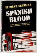 Books:Mystery & Detective Fiction, Raymond Chandler. Spanish Blood. Cleveland: World, [1946].First edition, first printing. Octavo. 221 pages. Publish...